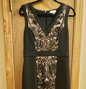 Calvin Klein Color Block Evening Gown Gorgeous 😍